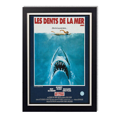 1970/'s Jaws Movie Reproduction Movie Poster Translated In French Wall Poster