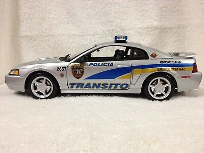 1/18 Puerto Rico Police: TRANSITO MUSTANG GT, /// DECAL SET ONLY ///. AVAILABLE.