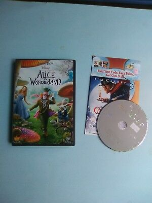 Alice in Wonderland (DVD, 2010) Disney