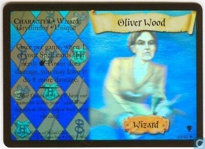 Harry Potter Quidditch Cup Holo Card *Oliver Wood* TCG CCG