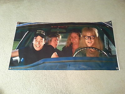 Waynes World Wayne & Garth Sunshade windshield Banner