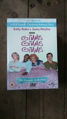 Gimme Gimme Gimme The Complete Collection series 1-3 new sealed dvd box set