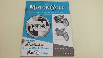 Vintage The Motor Cycle Magazine 19Th Jan 1956