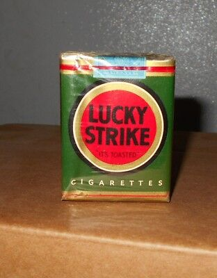 Vintage Pack Lucky Strike Green Cigarettes