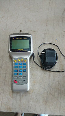Satvision ZF9800 Cable TV Handle Digital Signal Level Meter Tester 46-870MHz