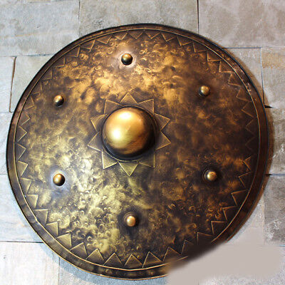 D6 Europe Battle Medieval Shield Antique Knight Armour Wall Home Decor Full Size