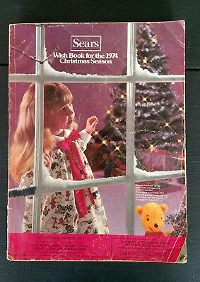 Sears 1974 Wish Book Christmas Catalog