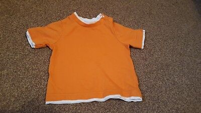 Used Mothercare baby boy 3-6 months short sleeved cute t-shirt