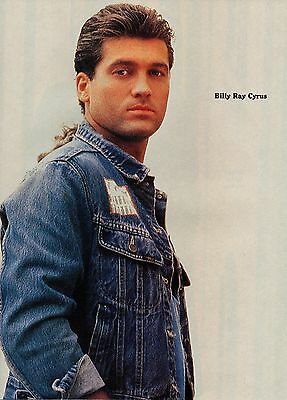 Billy Ray Cyrus 1 Page Magazine Picture Clipping Country Music