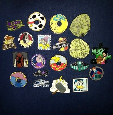 Disney Trading Pins Lot of 20 Authentic No Scrappers No Fakes