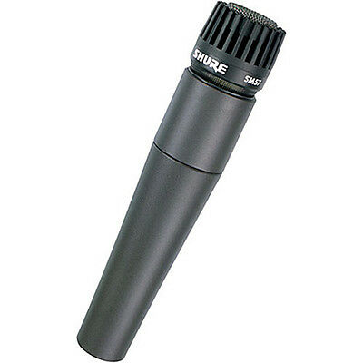Shure SM57-LC Cardioid Dynamic Microphone