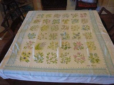 Floral Tablecloth- State Flowers