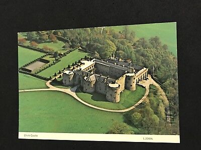 VTG 80's Post Card, Chirk Castle North Wales England