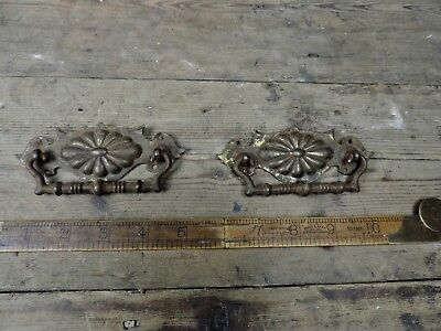 Original Matching Pair of Reclaimed Antique Victorian Handles