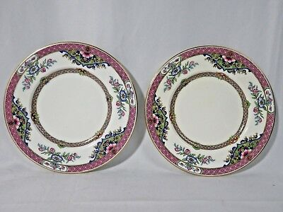 minton Tiffany & Co Dessert Plates - Lot of 2 Plates