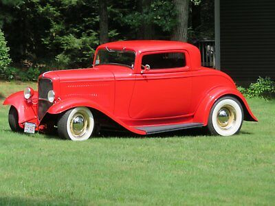 1932 Ford 3 window coupe Leather 1932 ford coupe 3 window coupe