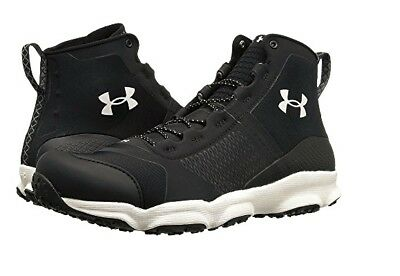 Under Armour SpeedFit Hike MID Tactical Black Trail Boots 10 14 Mens