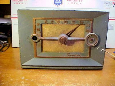 Vintage RARE CROSLEY Radio Maroon Art Deco Model No. E-20 GN - Parts & Restore