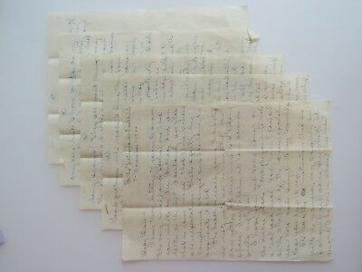 WWII Letter New Netherlands East Indies Battle Stars Pittsfield MA WW2 VTG #8203