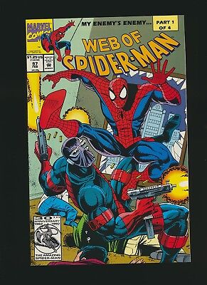 Web of Spider-Man #97, 9.0/VF to NM, 1st App Kevin Trench