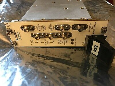 National Instruments Ni Pxi-5610 Rf Upconverter