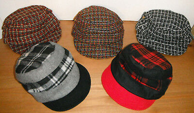 CALLANAN 5 hats Ladies Hat LOT womens CUTE MILITARY CADET cap hats