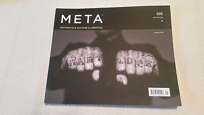 Meta Motorcycle Culture & Lifestyle magazine - Brand New - Issue Number 5.....