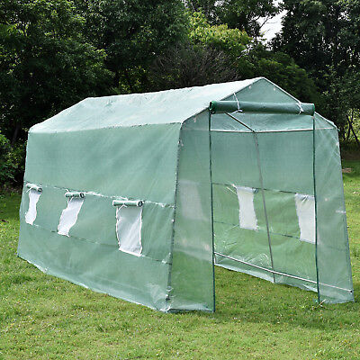 15'x7'x7' Green House Walk-In Greenhouse Portable Gardening Plant Heavy Duty
