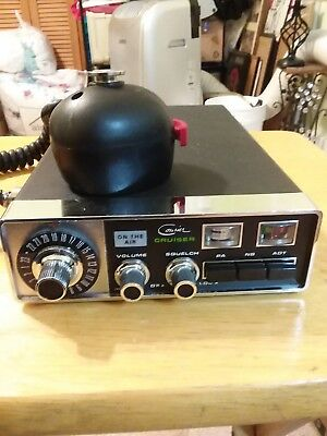 cb radio turner 2 mic $11 00 picclick d104 mic wiring courier cb cruiser 23 channel mobile radio tranciever with mic