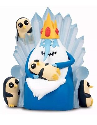 Adventure Time The Nice King and Gunter Figurine Brand New LootCrate exclusive