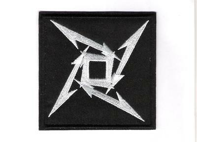 patch embroidered / écusson thermocollant Logo Metallica