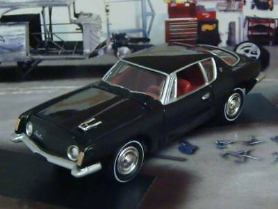 1963 - 1964 Studebaker Avanti 4.7L V-8 Luxury Coupe 1/64 Scale Limited Edition J
