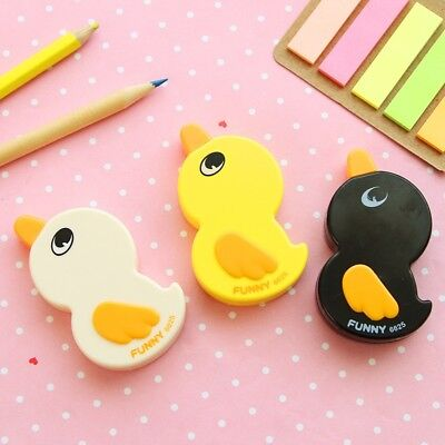10 PCS 6m Cute Duck Correction Tape School Office Stationery School Supplies