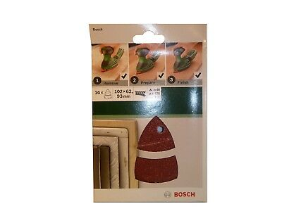 Genuine BOSCH SANDING SHEET Set for Multi-Sanders 2609256A67