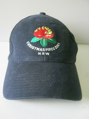 2001 NSW CHRISTMAS FIRES MEMBER INTER-AGENCY TEAM CAP - Mint!