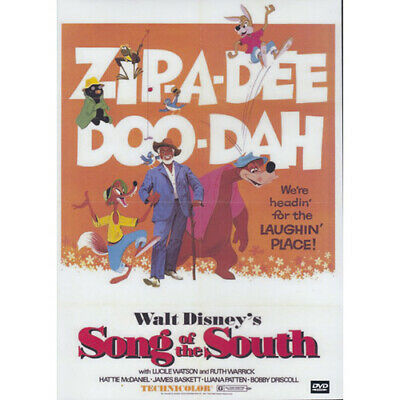 Song Of The South DVD - All Region Plays Worldwide - (Australian Shipping Free)