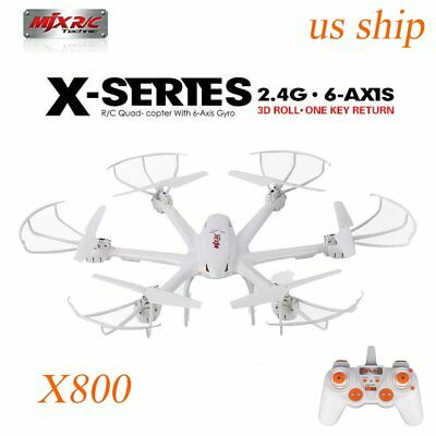 RC Quadcopter MJX X800 2.4G FPV 6 Axis Gyro Roll Drone Headless Flip Roll RTF