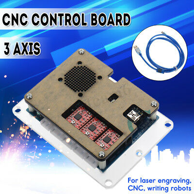 3-Axis GRBL Control Board USB CNC Controller Card Milling Laser Engraver Machine