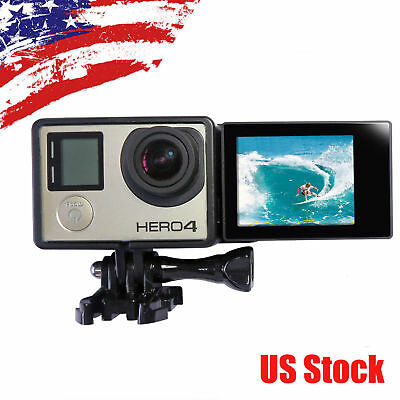 Gopro LCD BacPac Display Screen Monitor + Screen Adapter + Frame for Hero 4 3+ 3