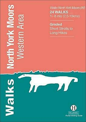 Walks North York Moors: Western Area by Richard Hallewell Paperback Book Free Sh