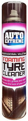 CAR BIKE AUTO EXTREME FOAM TYRE CLEANER 650ml