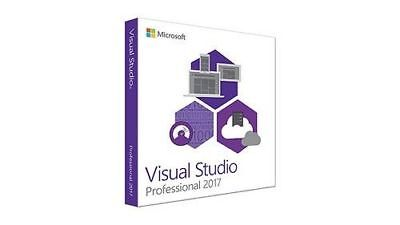 Visual Studio 2017 Professional ✔️ Download + Serial Key ✔️ Windows 32/64 ✔️