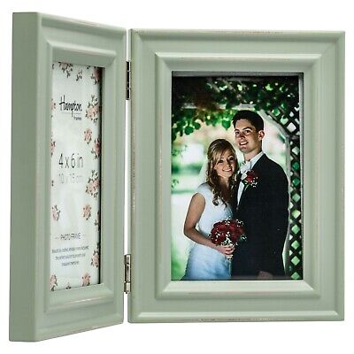 Paloma Multi Aperture Photo Frames Blue, Sage Green And White 2,3 or 4 Apertures