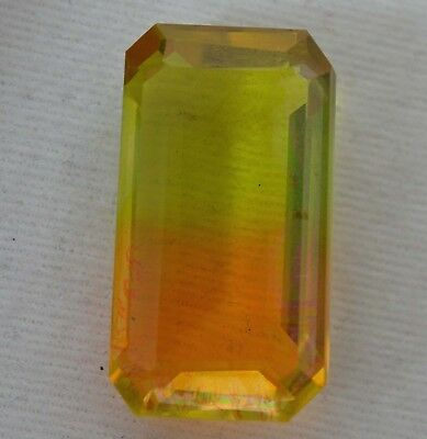 33.10 Ct Orange & Lemon  Ametrine Loose GGL Certified VVS Best Quality Gemstone