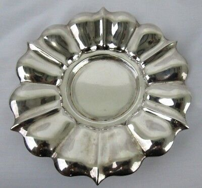 Sterling Silver British Tray Hallmarked Circa 1850 Edward and John Barnard