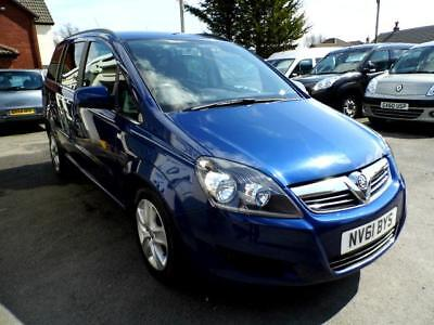 Vauxhall zafira automatic wav wheelchair accessible vehicle disabled access car