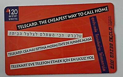 israel bezeq phonecard 1999 Foreign workers