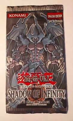 Yugioh! Shadow Of Infinity - 1st Ed - Empty Pack - No Cards
