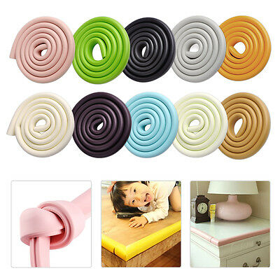2m Child Safety Protector Table Desk Corner Edge Guard Cushion Bumper Stripe