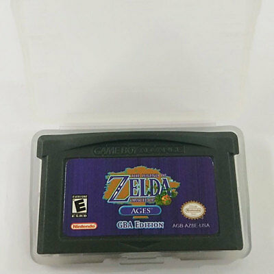 Legend of Zelda: Oracle of Ages Gameboy Cartridge Repro GBA Video Game Card
